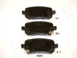 Тормозные колодки ASHIKA 51-09-905