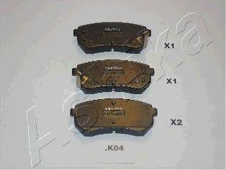 Тормозные колодки ASHIKA 51-0K-004
