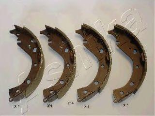 Тормозные колодки ASHIKA 55-02-214