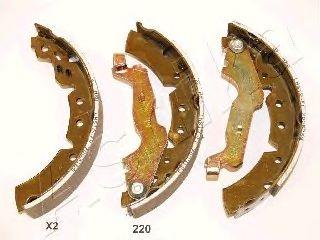 Тормозные колодки ASHIKA 55-02-220