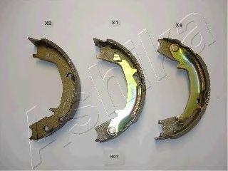 Тормозные колодки ASHIKA 55-H0-007