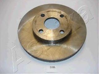Тормозной диск ASHIKA 60-02-208