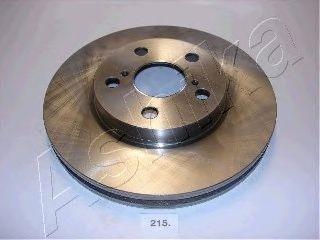 Тормозной диск ASHIKA 60-02-215