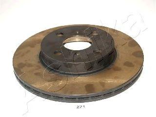 Тормозной диск ASHIKA 60-02-221