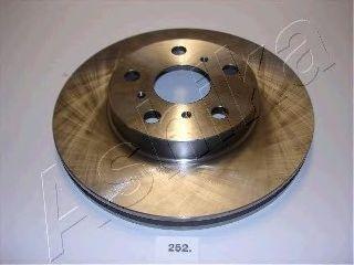 Тормозной диск ASHIKA 60-02-252