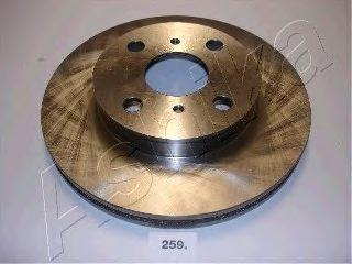 Тормозной диск ASHIKA 60-02-259
