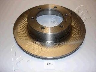 Тормозной диск ASHIKA 60-02-271