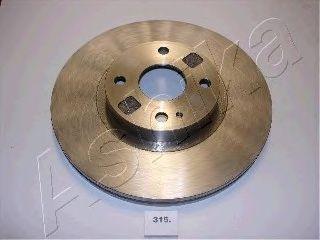 Тормозной диск ASHIKA 60-03-315