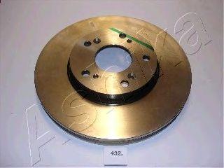 Тормозной диск ASHIKA 60-04-432
