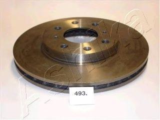 Тормозной диск ASHIKA 60-04-493