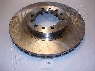 Тормозной диск ASHIKA 60-05-599