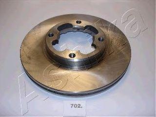Тормозной диск ASHIKA 60-07-702