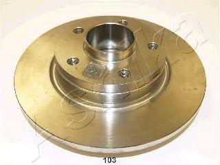 Тормозной диск ASHIKA 61-01-103