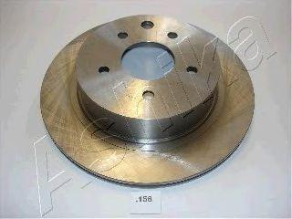 Тормозной диск ASHIKA 61-01-158