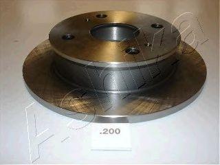 Тормозной диск ASHIKA 61-02-200
