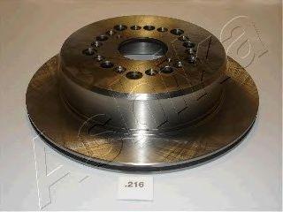 Тормозной диск ASHIKA 61-02-216