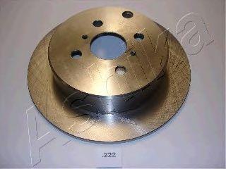 Тормозной диск ASHIKA 61-02-222