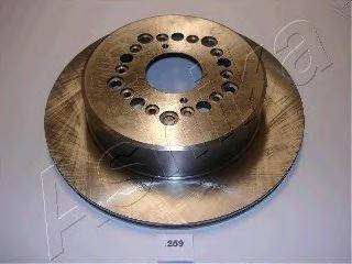 Тормозной диск ASHIKA 61-02-259