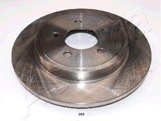 Тормозной диск ASHIKA 61-03-365