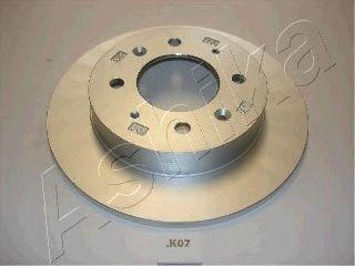 Тормозной диск ASHIKA 61-0K-K07