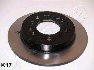 Тормозной диск ASHIKA 61-0K-K17