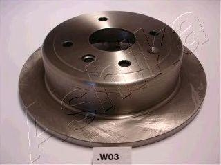 Тормозной диск ASHIKA 61-0W-W03