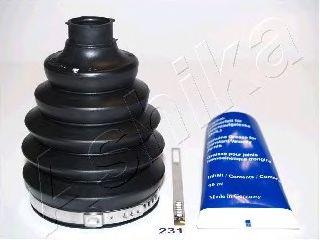 Комплект пыльника ШРУСа ASHIKA 63-02-231