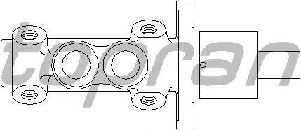 Главный тормозной цилиндр TOPRAN 103 522
