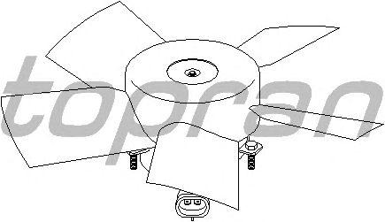 Вентилятор охлаждения TOPRAN 207 321