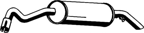 Глушитель ASMET 07.059