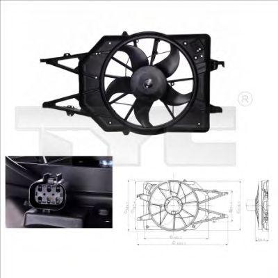 Вентилятор охлаждения TYC 810-0015