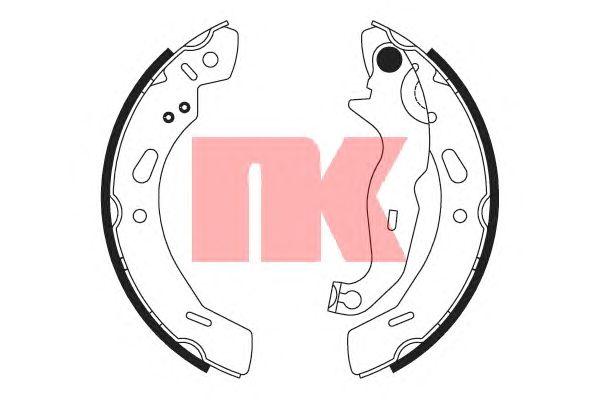 Тормозные колодки NK 2725762