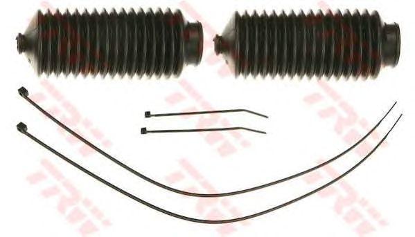 Комплект пыльников рулевой рейки TRW JBE160