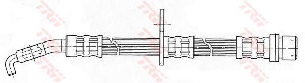 Тормозной шланг TRW PHD411