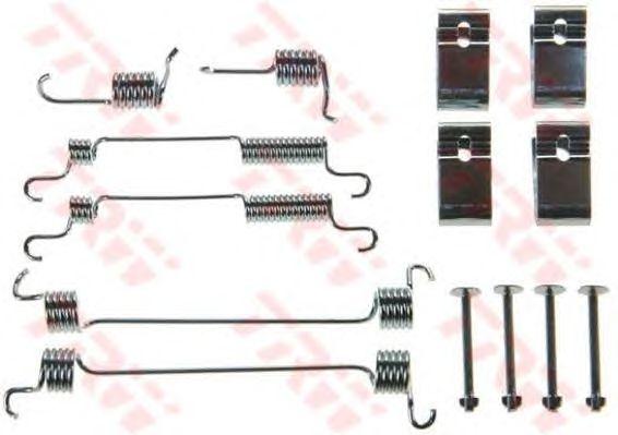 Монтажный комплект тормозных колодок TRW SFK251