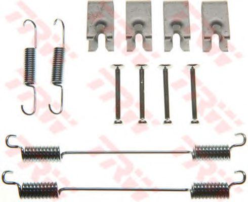 Монтажный комплект тормозных колодок TRW SFK390