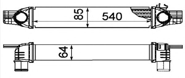 Интеркулер NRF 30254