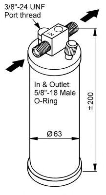 Осушитель кондиционера NRF 33116