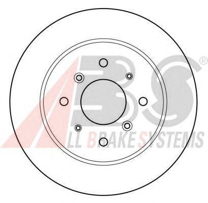 Тормозной диск A.B.S. 15599