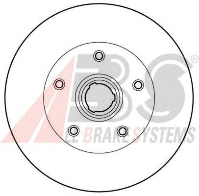 Тормозной диск A.B.S. 16081