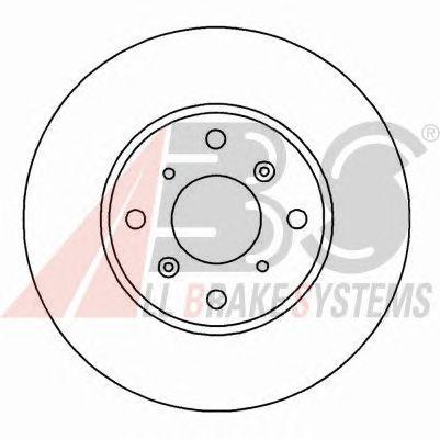 Тормозной диск A.B.S. 16172