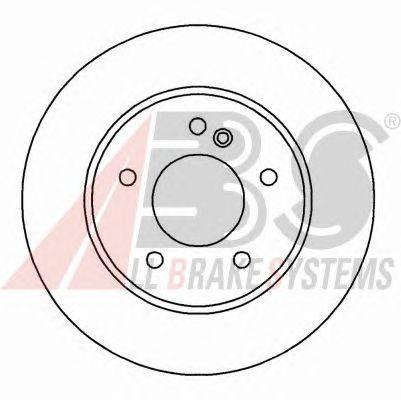Тормозной диск A.B.S. 16180