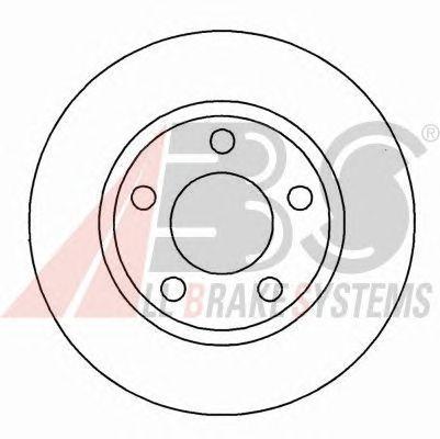 Тормозной диск A.B.S. 16293