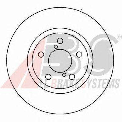 Тормозной диск A.B.S. 16632