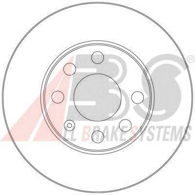 Тормозной диск A.B.S. 17362
