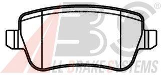 Тормозные колодки A.B.S. 37496