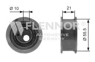 Натяжной ролик ремня ГРМ FLENNOR FS99018