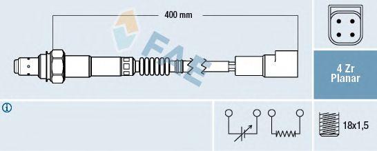 Лямбда-зонд FAE 77244