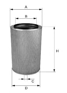 Воздушный фильтр FILTRON AR283/1