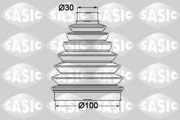 Комплект пыльника ШРУСа SASIC 1904016